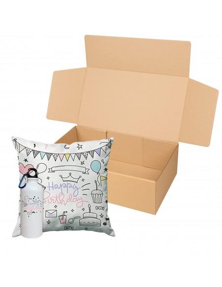 Caja kraft para regalos