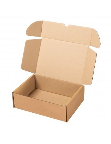 Caja kraft automontable para envios ecommerce
