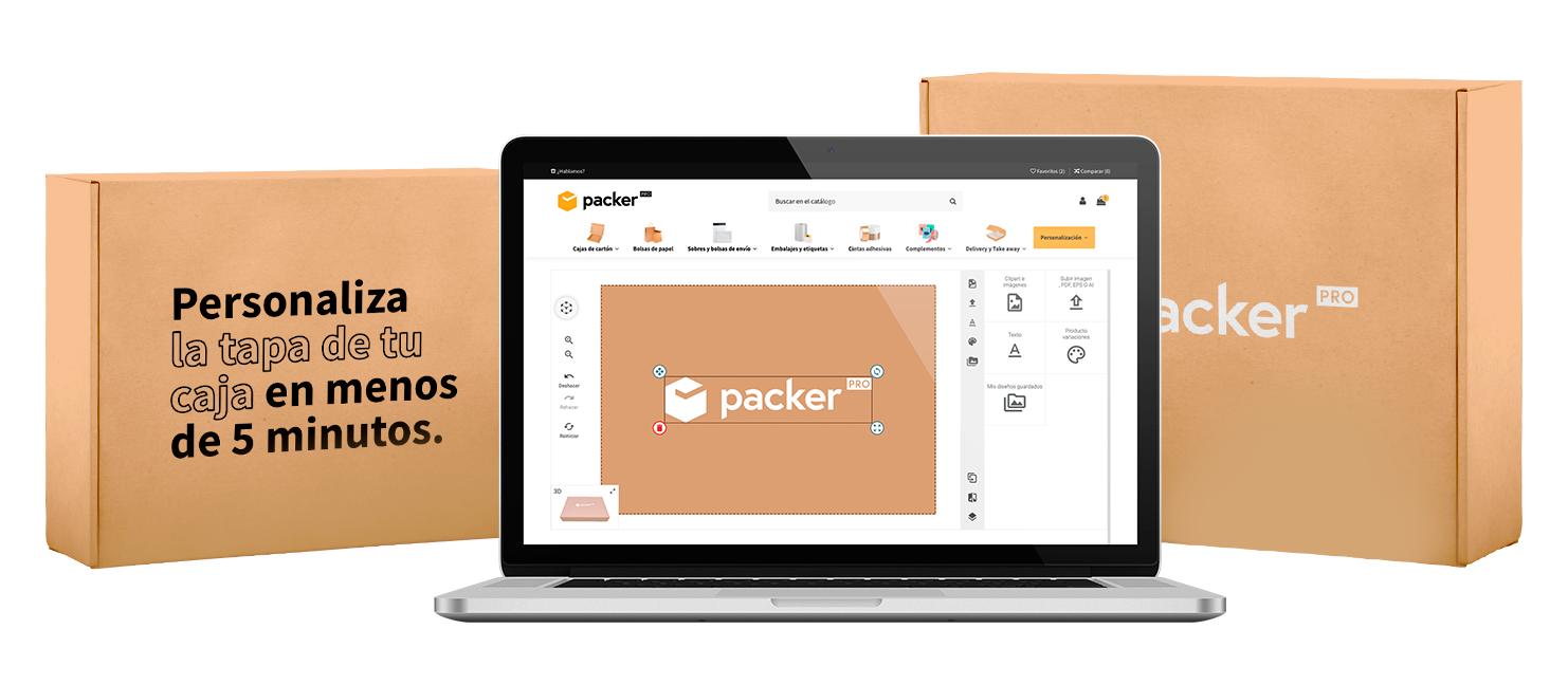 Comprar cajas de cartón personalizadas para ecommerce