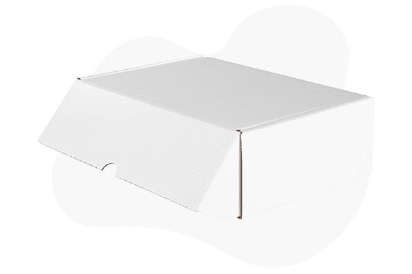 Cajas de cartón blancas